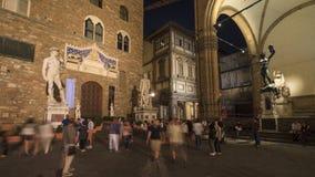 Della Signoria della piazza a Firenze, Toscana Italia Fotografia Stock