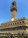 Della Signoria Palazzo Vecchio oder Palazzo in Florenz, Italien stockfotos