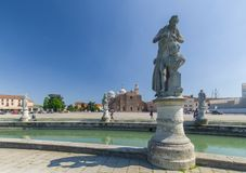 Della Valle и Санта Giustina Prato стоковое изображение