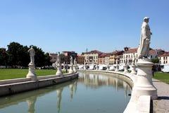 Della Valle de Prato, Padua Foto de Stock
