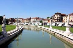 Della Valle de Prato, Padua Fotografia de Stock