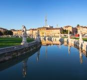 Della Valle, Padua de Prato Foto de archivo libre de regalías