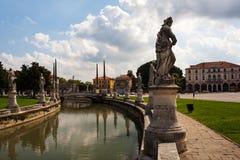 Della Valle, Padua de Prato Fotografía de archivo