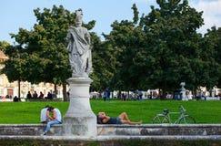 Della Valle, Padua de Prato Fotos de archivo