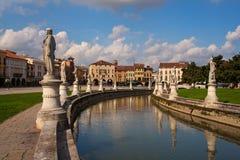Della Valle, Padua de Prato Imagen de archivo libre de regalías