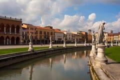 Della Valle, Padua de Prato Foto de archivo