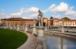 Della Valle, Padua de Prato Fotos de archivo libres de regalías