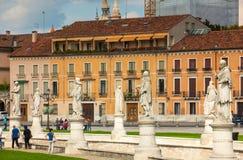 Della Valle, Padua de Prato Imágenes de archivo libres de regalías