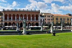 Della Valle, Padua, Italia de Prato Imagenes de archivo
