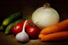 Della verdura vita ancora Fotografia Stock Libera da Diritti