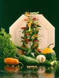 Della verdura vita ancora Fotografie Stock Libere da Diritti