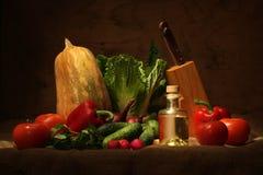 Della verdura vita ancora immagini stock