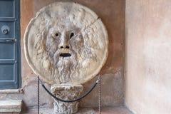 Della Verità (l'anglaisde Bocca de La : la bouche de la vérité) Photos libres de droits