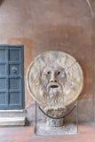 Della Verità (l'anglaisde Bocca de La : la bouche de la vérité) Photographie stock libre de droits