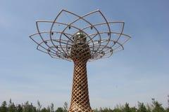 Della Vita Albero на экспо 2015 в милане, Стоковые Изображения