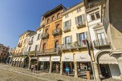 Della Vittoria, Lodi, Italia de la plaza foto de archivo