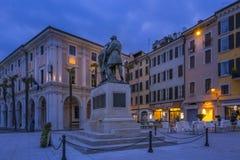 Della Vittoria della piazza in Salo, Italia fotografia stock libera da diritti