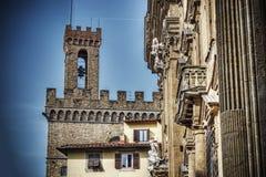 Della Volognana di Torre a Firenze nel hdr Immagini Stock