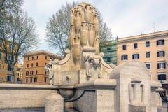 Delle Anfore & x28 Фонтаны; Фонтан Amphorae& x29; в Риме, Ita Стоковое Изображение