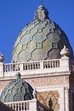 Delle cupole città dentro di Omaha Fotografia Stock
