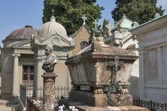 Delle de cimetière Porte Sante à Florence Photos stock
