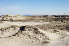 delle dune di sabbia Immagine Stock Libera da Diritti