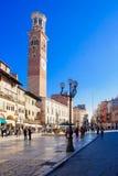 delle erbe piazza Verona Fotografia Stock