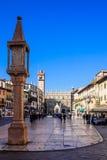 delle erbe piazza Verona Fotografia Royalty Free