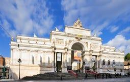 Delle Esposizioni, Roma de Palazzo Foto de archivo