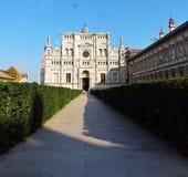 Delle Grazie, di Pavía de Santa Maria de Certosa fotos de archivo