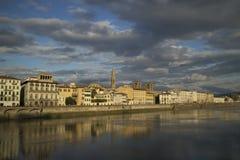 Delle Grazie, Florencia de Lungarno imagenes de archivo