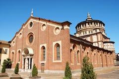 Delle Grazie, Milano de Santa María Fotografía de archivo libre de regalías