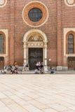 Delle Grazie, Milano della Santa Maria Fotografia Stock