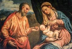 Delle Grazie (Milano) di Santa Maria, dipingente Fotografie Stock