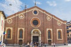 delle grazie santa της Μαρίας Μιλάνο Στοκ εικόνες με δικαίωμα ελεύθερης χρήσης