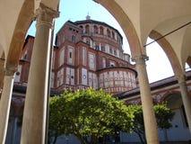 Delle Grazie Santa Maria - деталь стоковые изображения rf