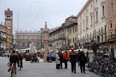 delle imperium erbe forum domu Italy piazza rzymski s kwadrat grodzki Verona był Obrazy Royalty Free