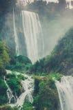 Delle Marmore (Italien) Cascate (Wasserfall) Lizenzfreie Stockbilder