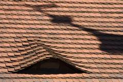 Delle mattonelle di tetto Fotografia Stock Libera da Diritti