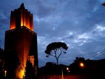 Delle Milizie Torre стоковая фотография