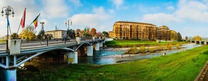 Delle Nazioni di Ponte a Parma, Italia Fotografia Stock