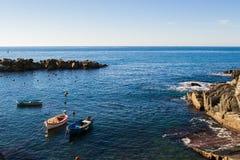 Delle Parco Nazionale Cinque Terre - Riomaggiore Stockbild