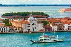 Delle Zitelle de Chiesa Santa Maria en Venecia, Italia Fotografía de archivo libre de regalías