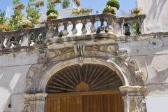 Delli Santi Palace. Manfredonia. Puglia. Italy. Stock Photography