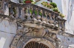 Delli Santi Palace. Manfredonia. Puglia. Italy. Stock Image