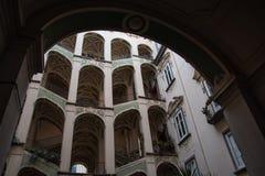 Dello Spagnuolo Palazzo стоковое изображение rf