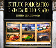 Dello Stato van Poligrafico e Zecca van Istituto Stock Afbeelding