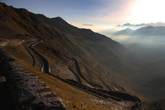 Dello Stelvio de Passo Photo stock