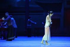 Dello strumento- più prezioso l'atto in primo luogo degli eventi di dramma-Shawan di ballo del passato Fotografia Stock