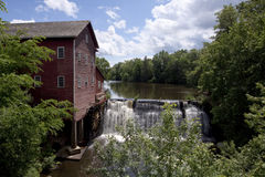 Dells Mill. An old historic wooden grist mill in Wisconsin Royalty Free Stock Photography